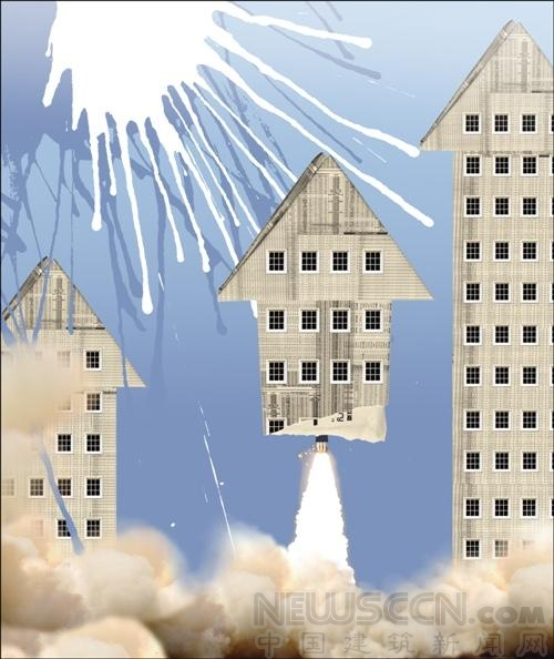 """""""最坚硬泡沫""""楼市破裂引起的烈度不会太高"""